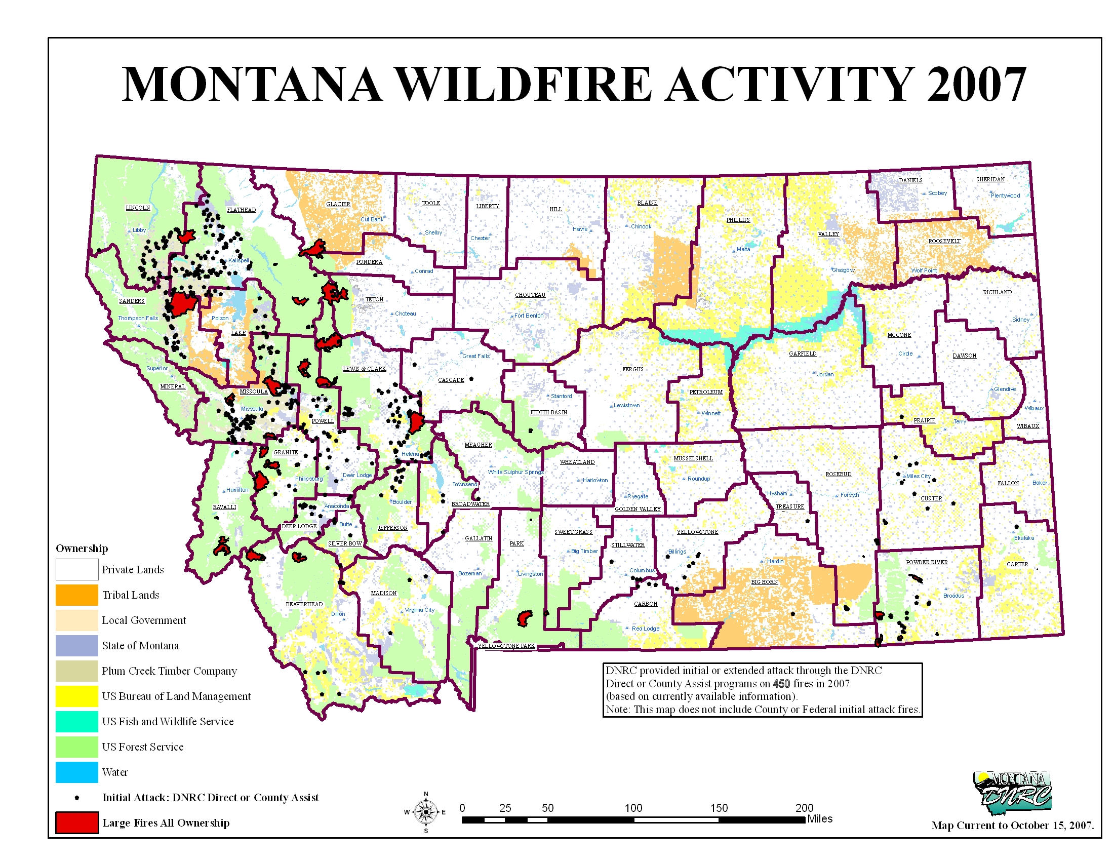 Montana Legislature Fire Suppression Interim Committee 2007 2008