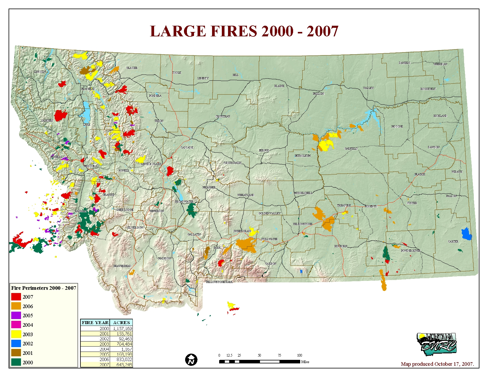 Current Fires In Montana Map.Montana Legislature Fire Suppression Interim Committee 2007 2008